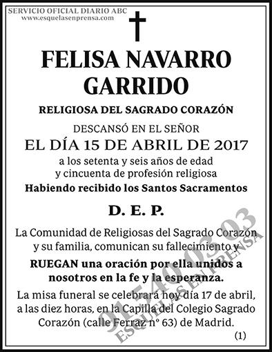 Felisa Navarro Garrido
